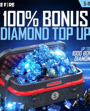 100% Bonus Diamond Topup Event