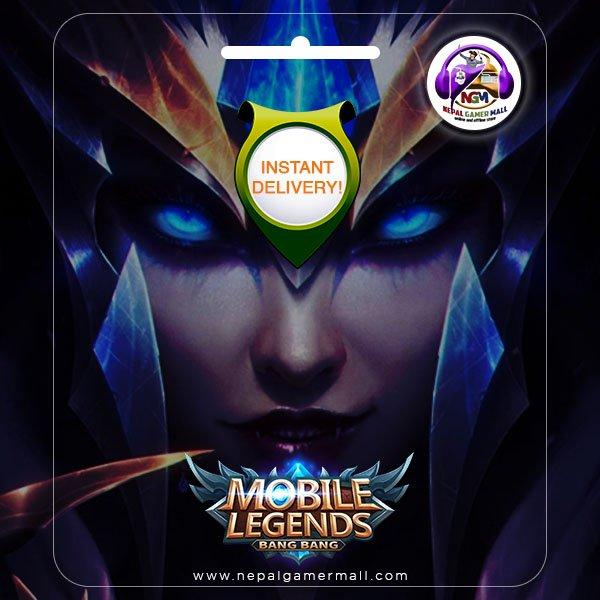Mobile Legends Diamond TOPUP in Nepal