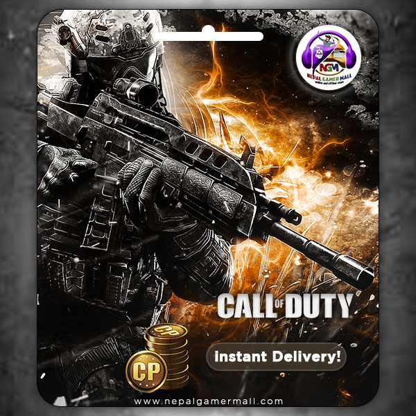 Call Of Duty (Mobile) CP TOPUP In Nepal