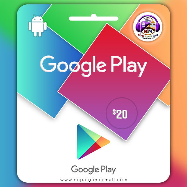 Google Play Gift Card In Nepal
