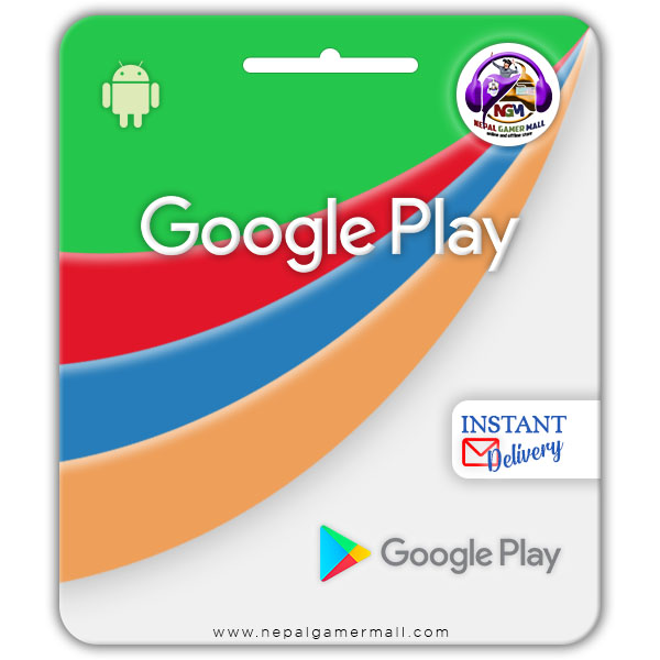 INR Google Play Gift Card In Nepal