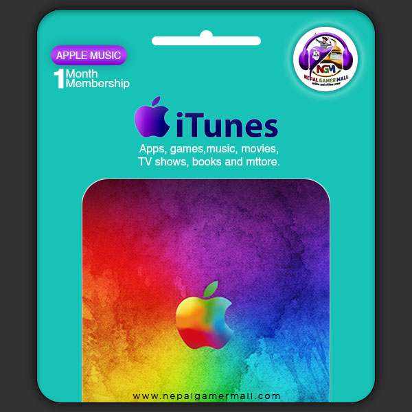 itunes Gift card in nepal
