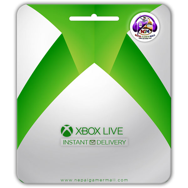 buy xbox Live Gift card in nepal