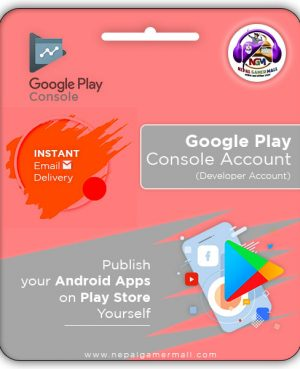 Buy Google Play Console Account In Nepal
