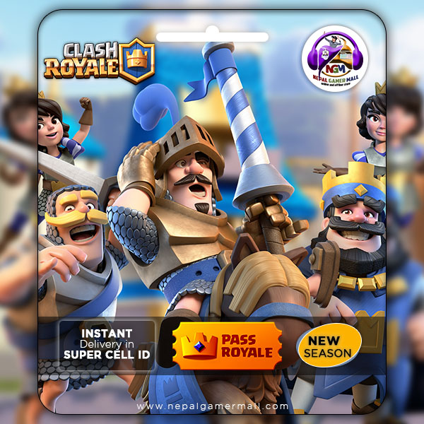 Clash Royale Pass In Nepal